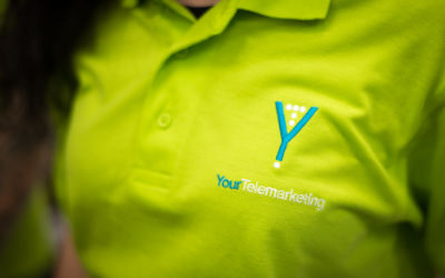 Green Polo Shirt With Your Telemarketing Logo