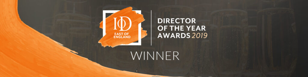 IoD 2019 East Of England Director Of The Year Winner